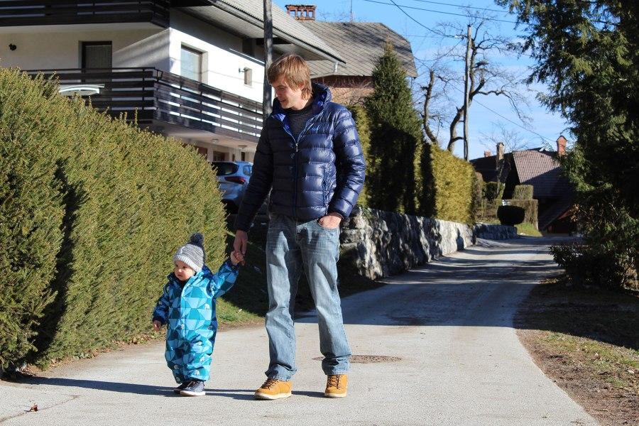 Z Oskarjem na sprehodu