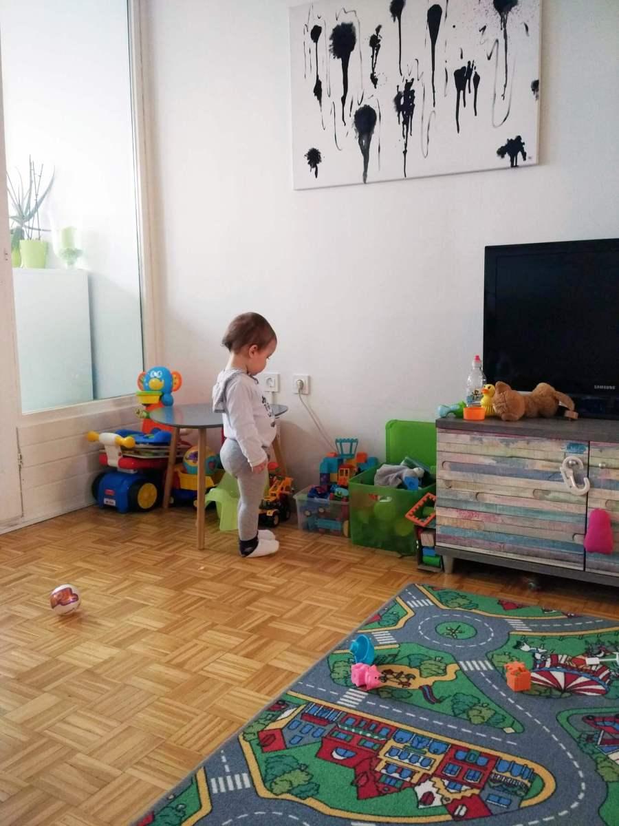 Oskar se noče več igrati!